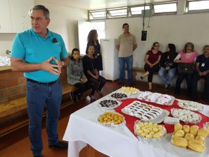 Professor Amadeu Bona Filho durante o evento
