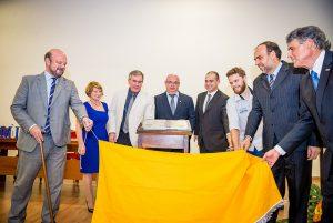 Setor ganhou uma placa comemorativa ao centenário da Escola Agronômica